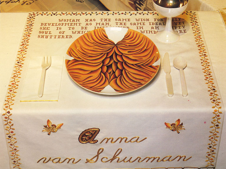 judy chicago dinner party essay